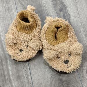 Gap Baby Slippers Teddy Bear Medium